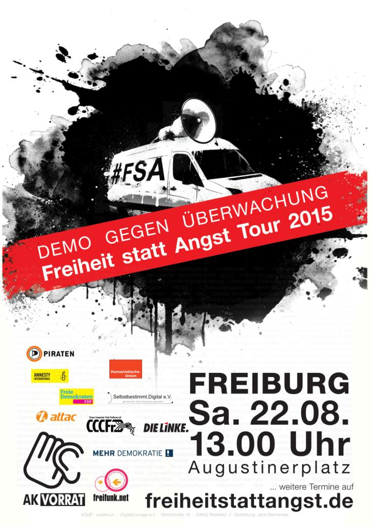 FsA15 Freiburg - Plakat