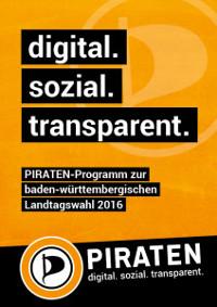 PIRATEN-Programm zur baden-württembergischen Landtagswahl 2016