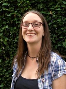 Julia Fiedler, Landtagskandidatin der Piratenpartei für den Wahkreis Emmendingen.