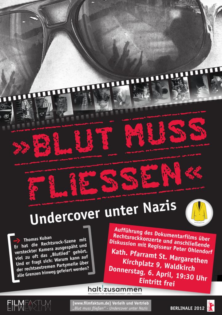"""""""Blut muss fließen"""" (Flyer)"""